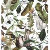 Green Leaves Duvar Kagidi