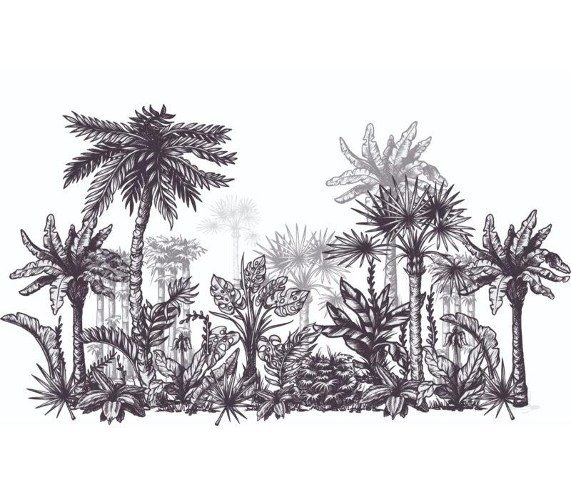 Palm Porest Duvar Kagidi