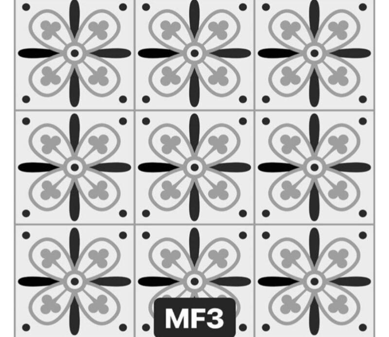 Mf 3 Zemin Sticker